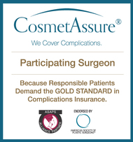 CosmetAssure cosmetic surgery insurance.