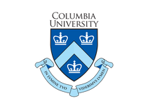 The is a picture of the crown symbol of Columbia University, in the city of New York.