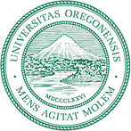 This pciture is of the seal of the University of Oregon.