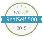 Picture of realself 500 award for 2015.